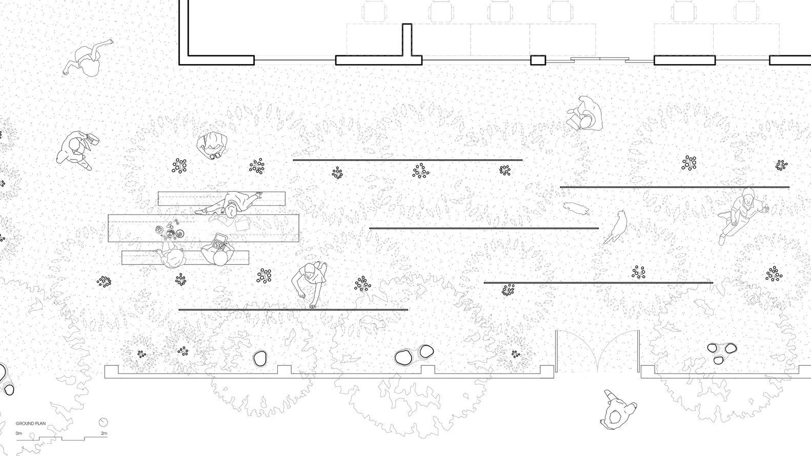 Gallery Of Field Of Idea Office Mia Design Studio 28 Design Design Studio Ground Floor Plan