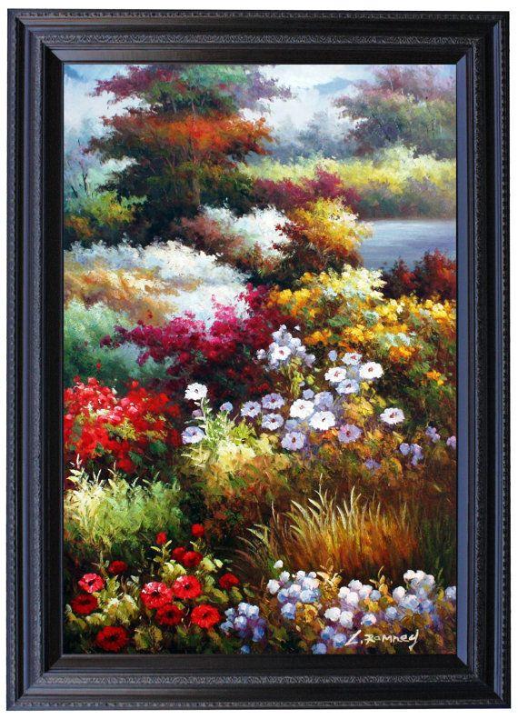 Unavailable Listing On Etsy Arte Con Flores Pintura Al óleo Sobre Lienzo Arte De Acuarela