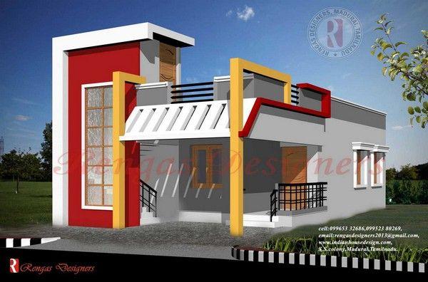 Single Floor Elevation Ymca : Single floor house designs narendra asoori pssm