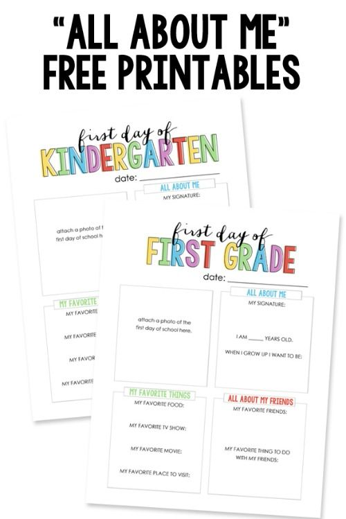 graphic relating to All About My Teacher Free Printable named Absolutely free Back again towards University Printables Family vacation: Back again towards Higher education