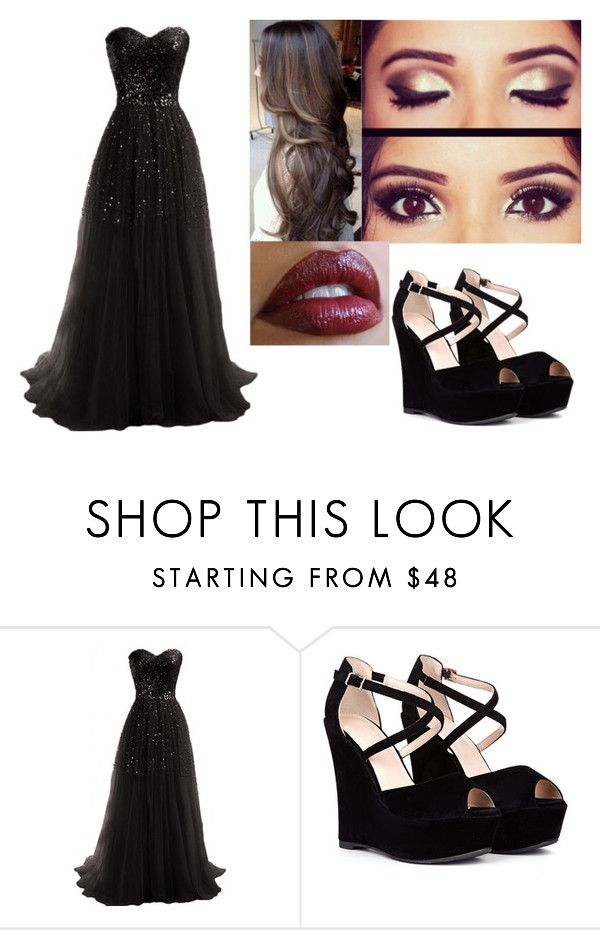 """""""Vivianna - Gown"""" by victim-of-authority ❤ liked on Polyvore"""