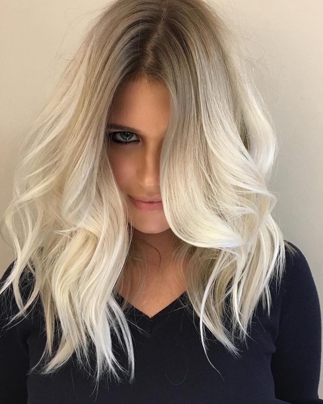 Cute Medium Hairstyles 10 Cute Medium Hairstyles With Gorgeous Color Twists  Medium