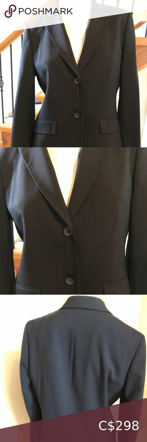 Brooks Brothers Tollegno 1900 Suit Jacket sz 8 EUC