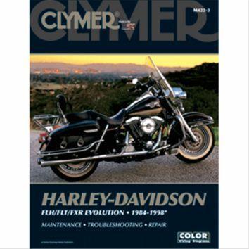 Clymer M422 3 Manual For Harley Davidson Flh Flt Fxr Evolution 1984 1998 Harley Davidson Clymer Harley