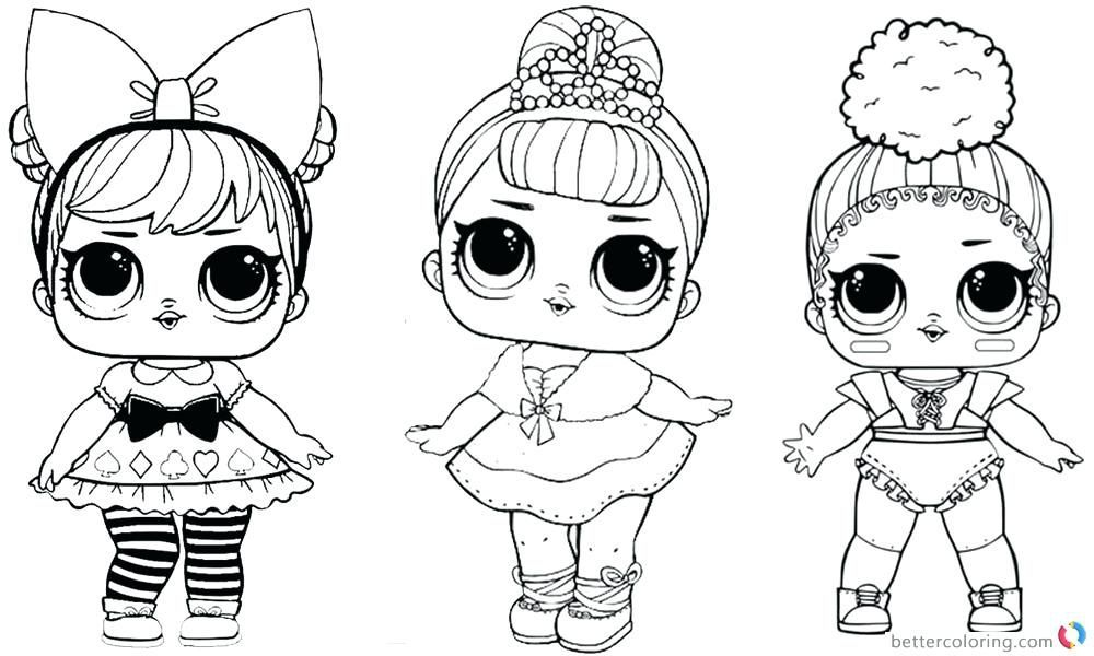 Lol Doll Coloring Pages Dawn Lol Dolls Free Printable Coloring Free Printable Coloring Pages