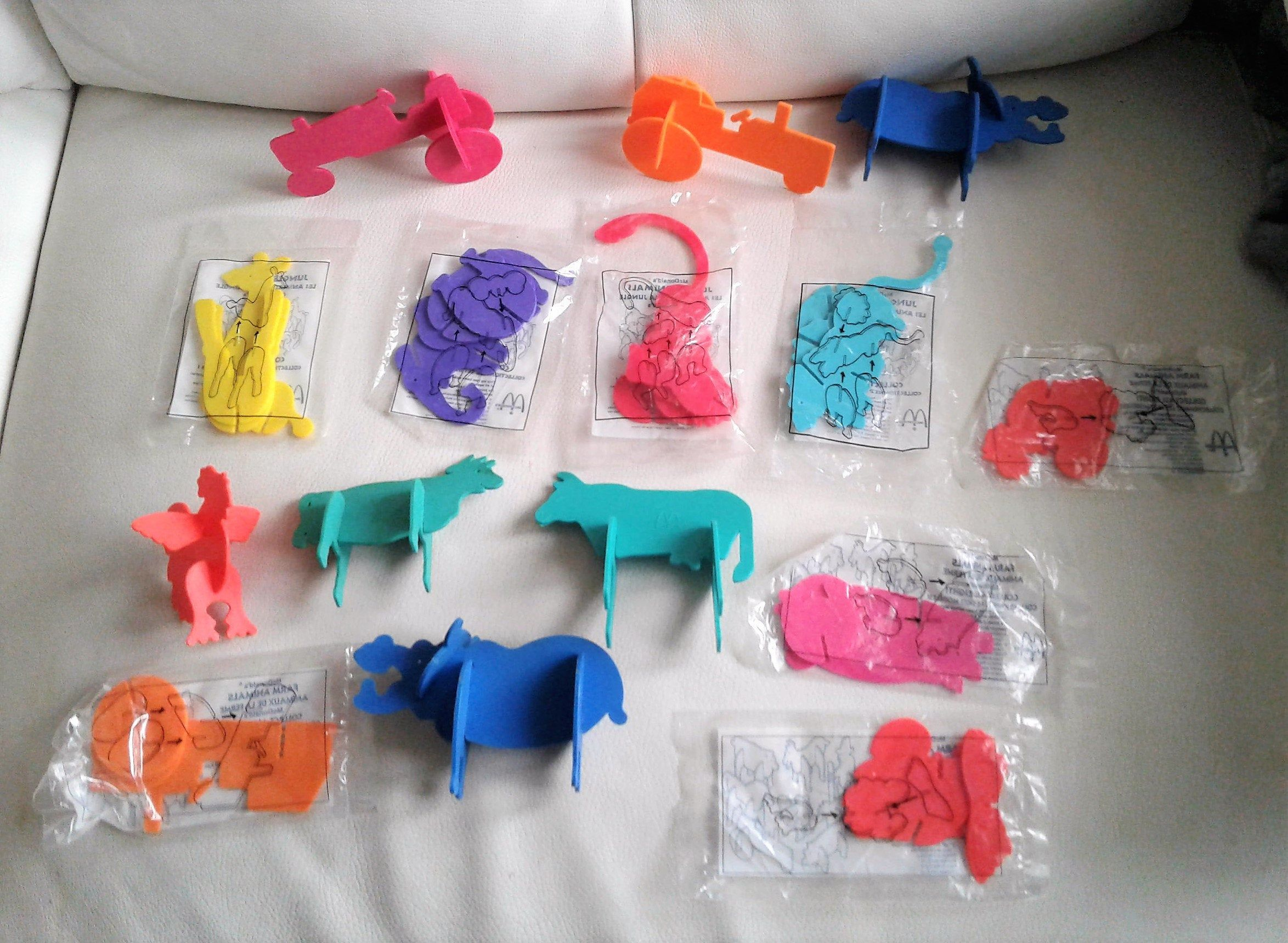 51 McDonald's Ty Teenie Beanie Babies Mixed Lot New In Bags
