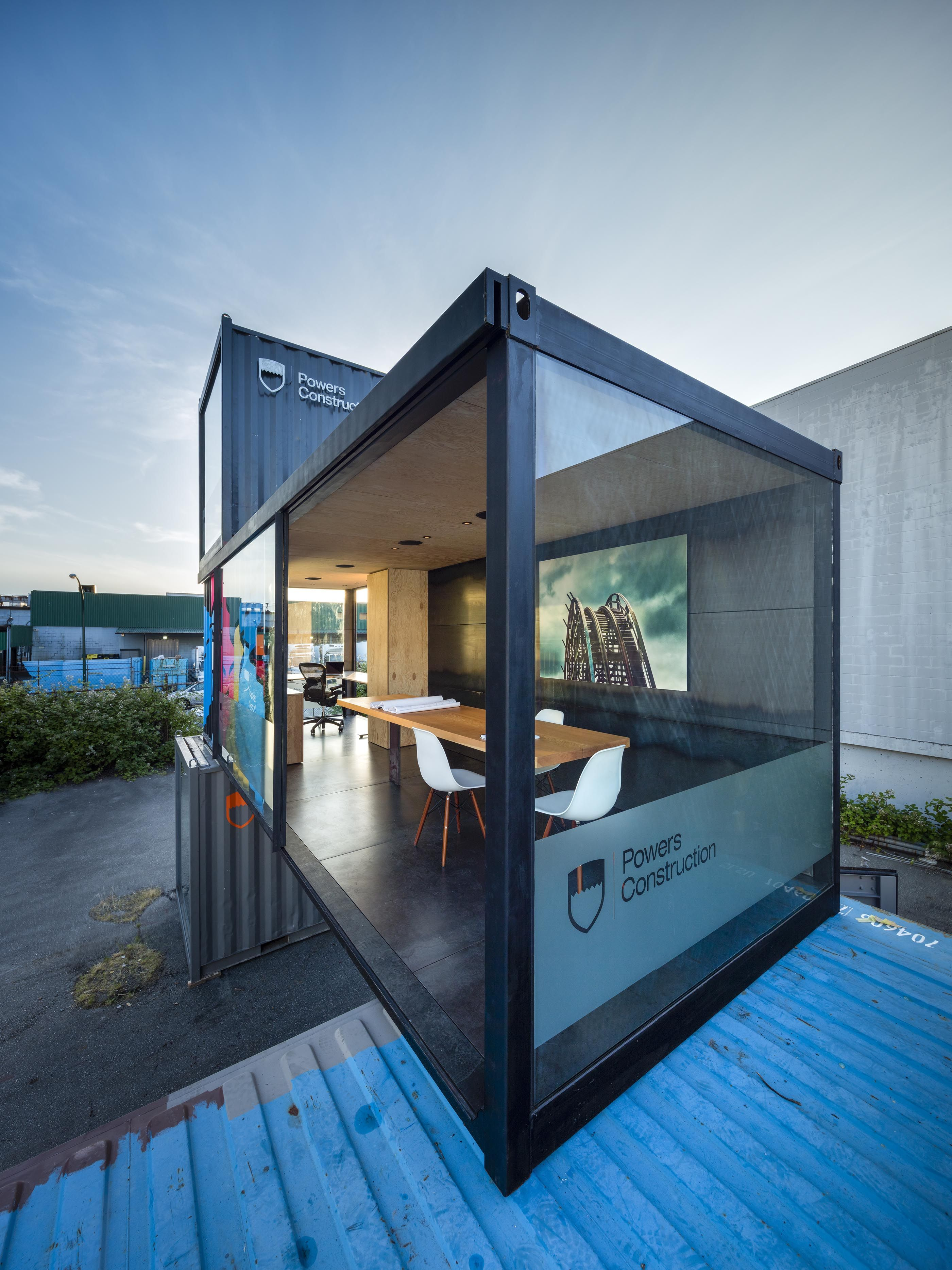 Site Offices Powers Construction Container House Design