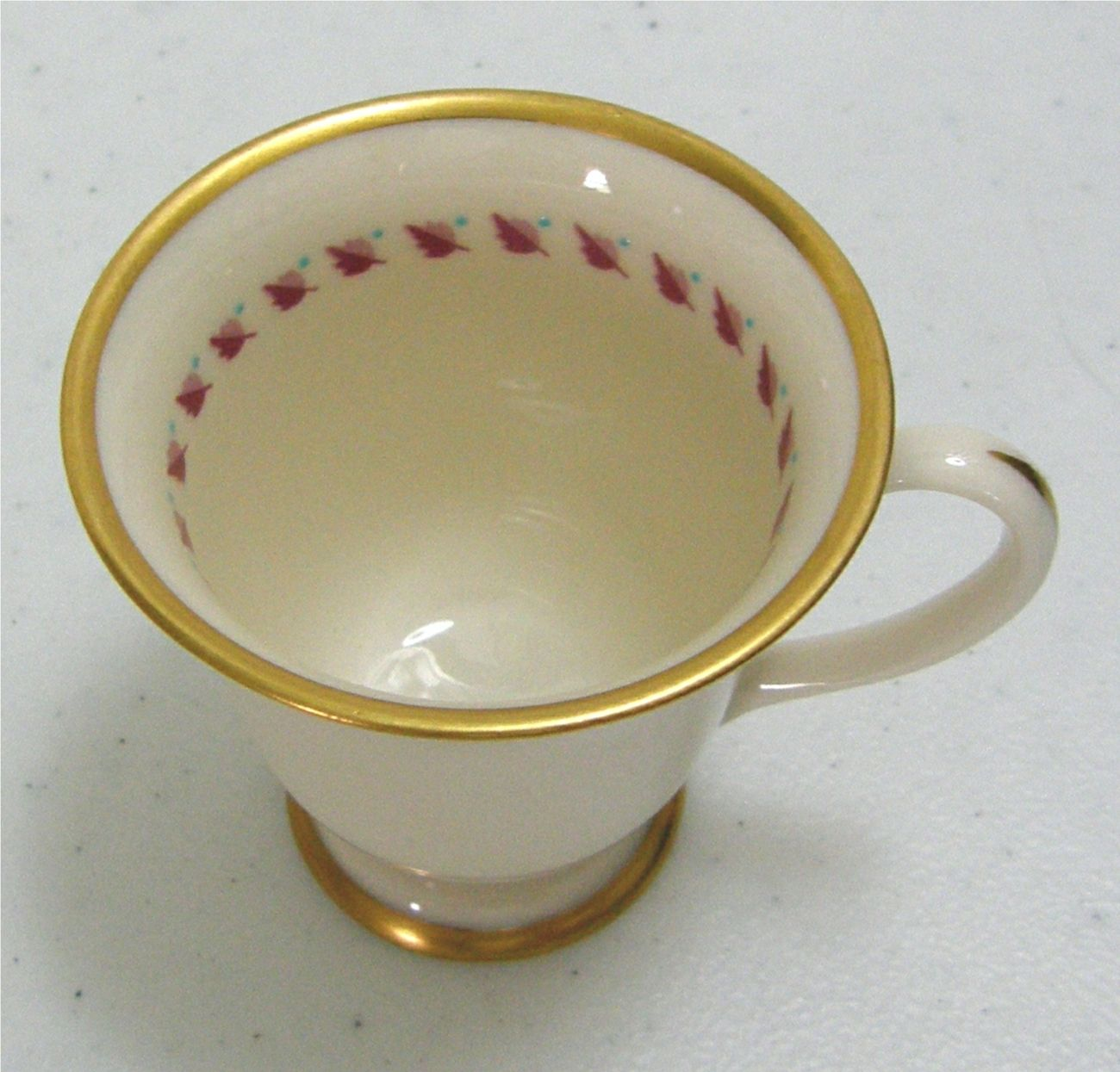 Franciscan China –Arden pattern Footed Demitasse Cup & Saucer - ca ...
