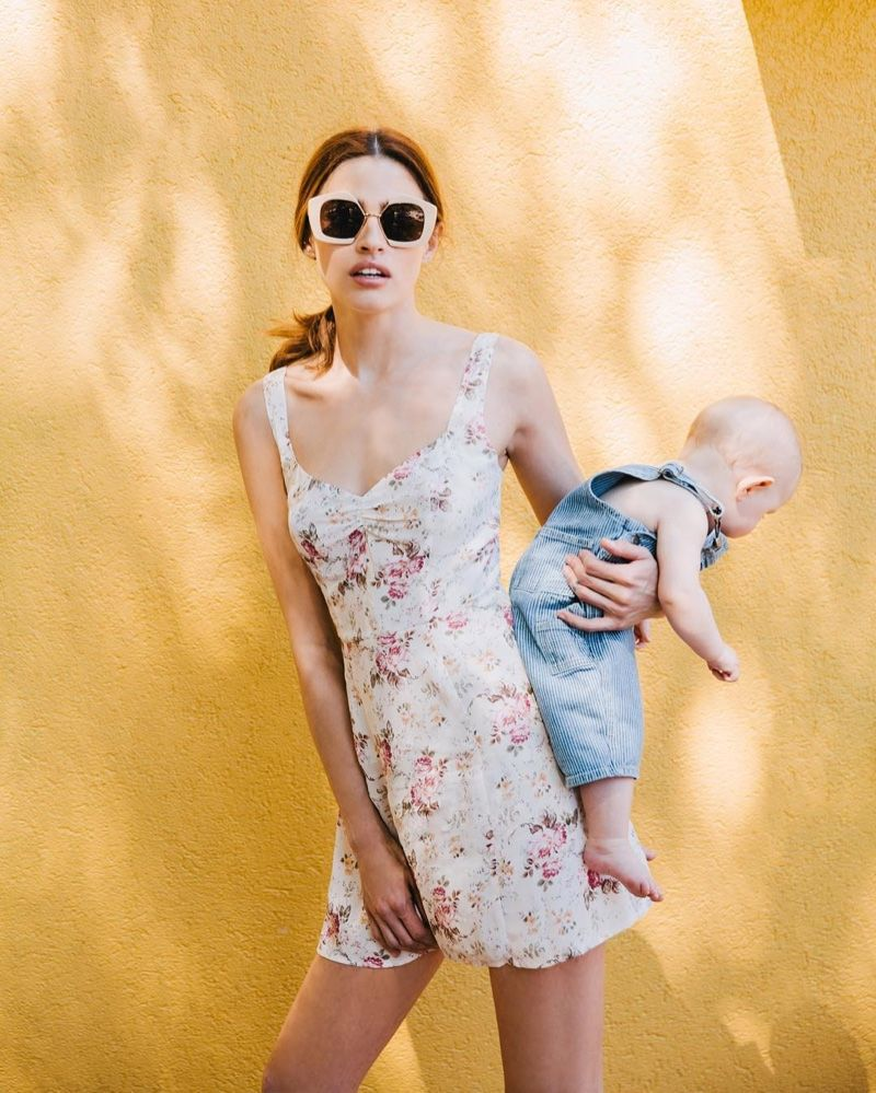8ed23eb695b Reformation Celebrates Mother's Day with a Dress for Breastfeeding ...