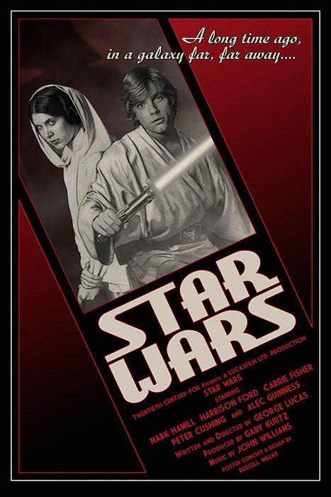 Star Wars 1947 Print
