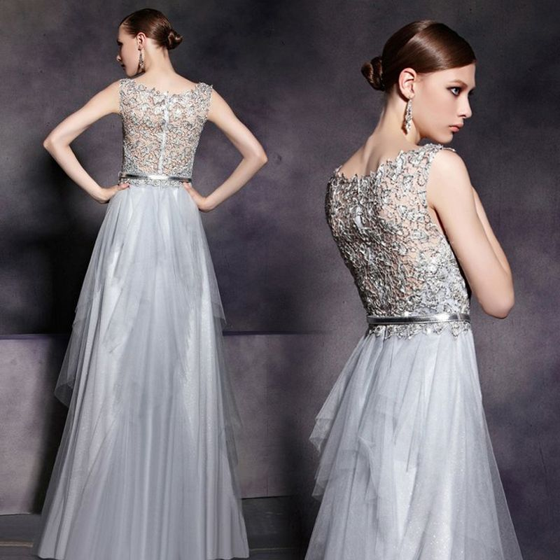 Spectacular light grey lace wedding dresses Google Search