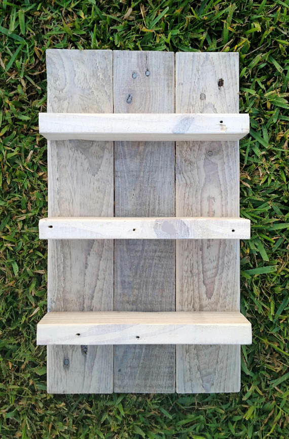Pin By Tina Wren On Pallet Wood Ideas In 2020 Pallet Wood Shelves Pallet Decor Pallet Shelves