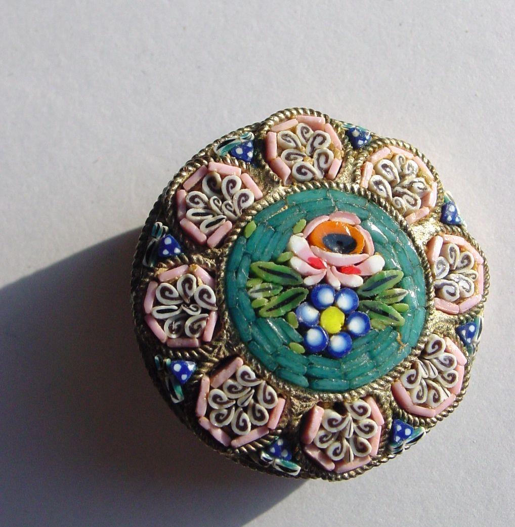 vintage micro mosaic jewelry HARLEY DAVIDSON JEWELRY BOX GALLERY