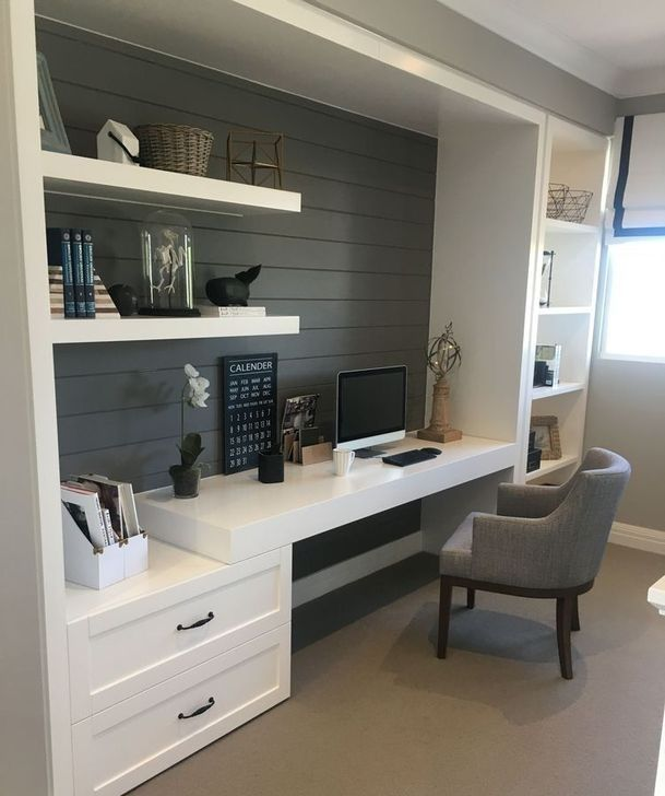 37 Classy Bedroom Office Space Ideas images