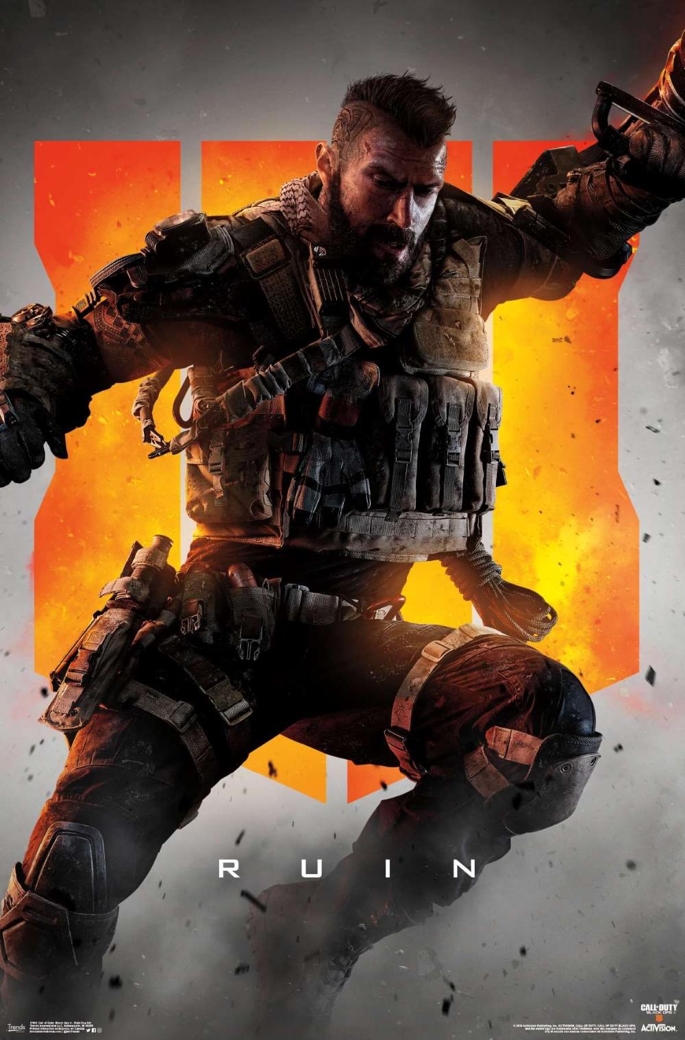 Call Of Duty Black Ops 4 Ruin Key Art Call Of Duty Call Of