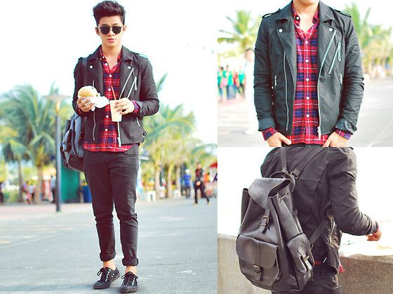 Planet Plaid (by David Guison) http://lookbook.nu/look/4009080-Planet-Plaid