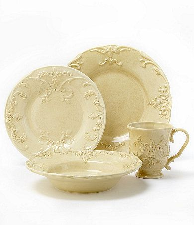 Dillards Cremieux Provence Dinnerware - too pretty❤ ❤ ❤️  sc 1 st  Pinterest & I would love to have this set of plates. They are my absolute ...