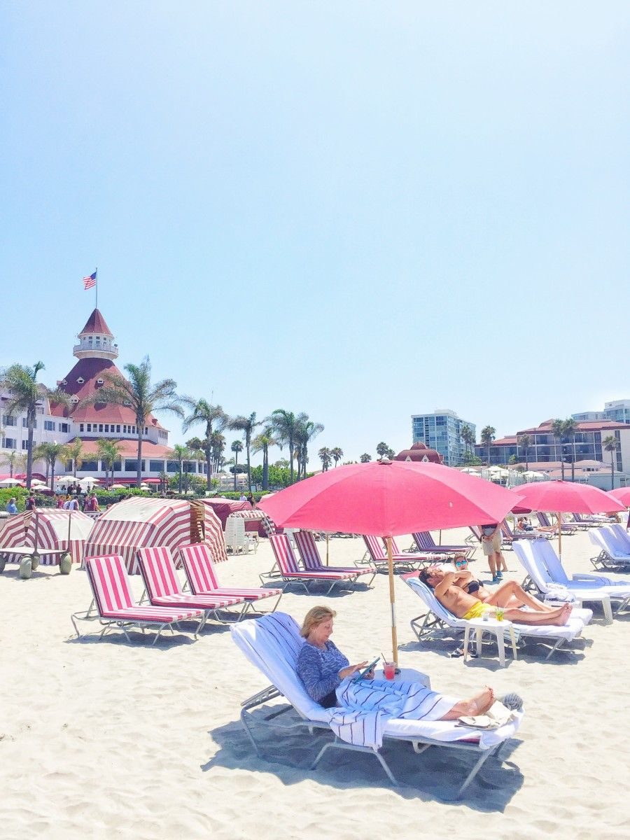 How To Have The Perfect Beach Day At Hotel Del Coronado