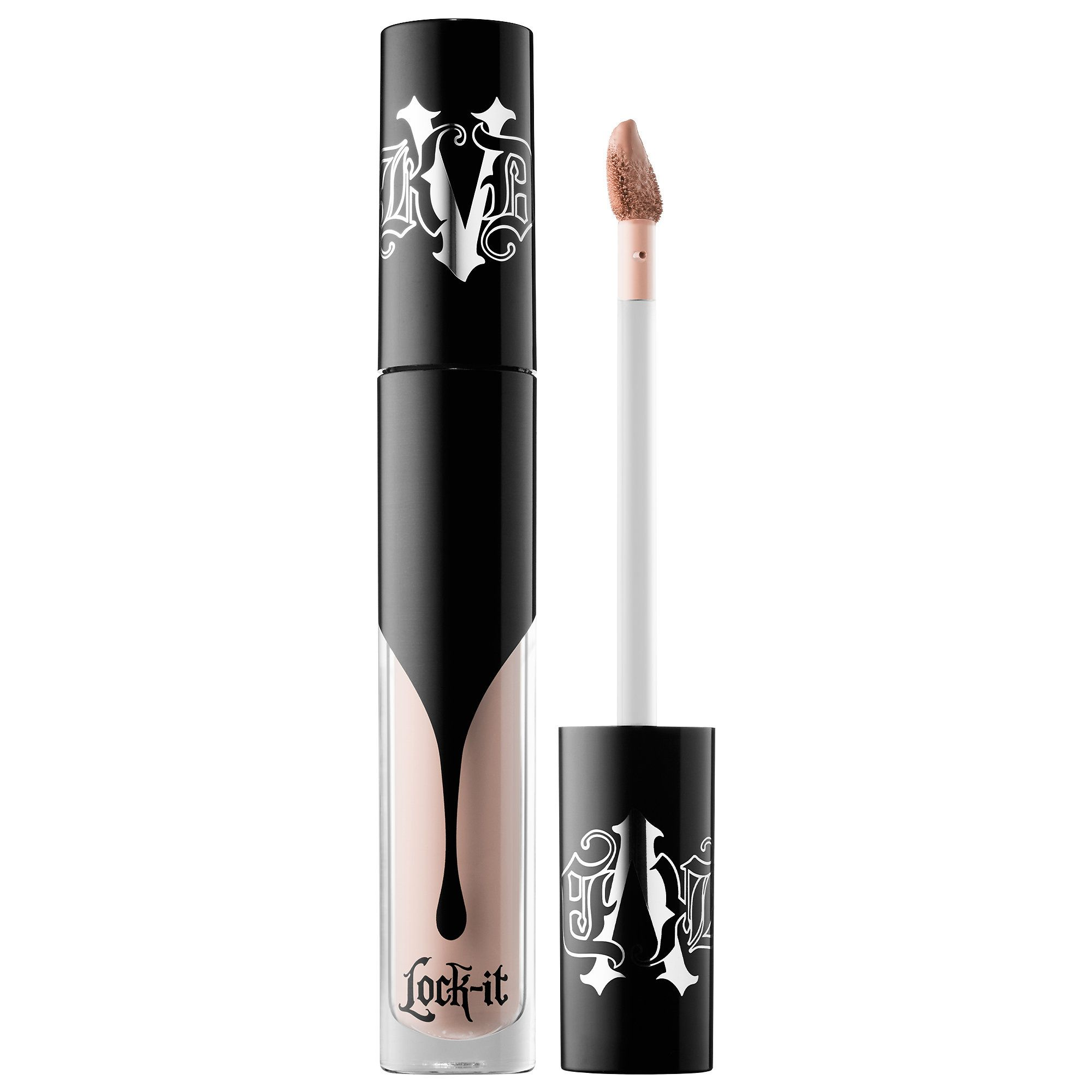 Shop Kat Von D's Lock-It Concealer Crème at Sephora. It conceals imperfections and provides full coverage for 24 hours.