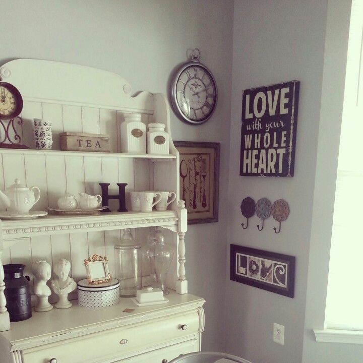 """Started to hang my little collection for the """"picture wall"""". More pics will come soon of the finished wall!"""