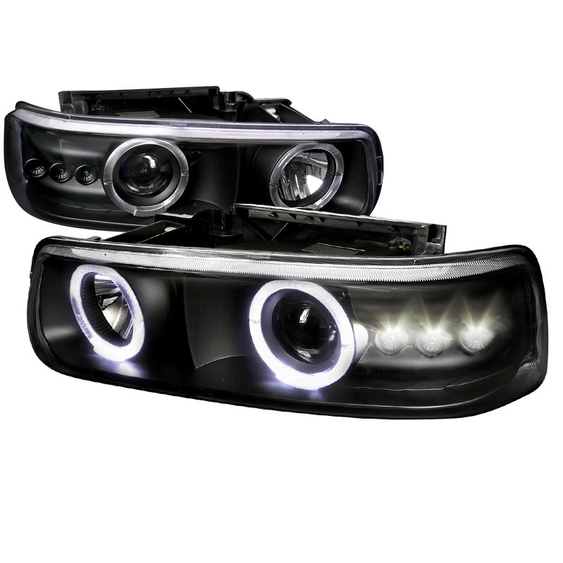 Chevrolet Tahoe 2000-2006 Black Projector Headlights