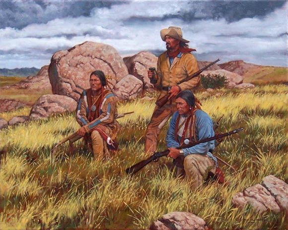 Western and Native American Art by Steven Lang