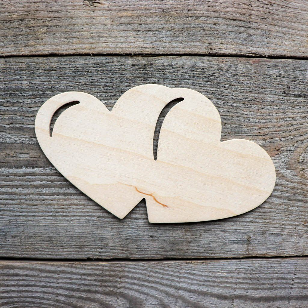 Heart Wood Cutout In 2020 Wood Cutouts Wooden Hearts Arts And Crafts Projects