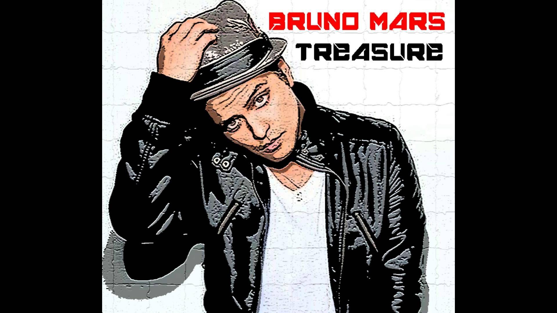 75 Bruno Mars Treasure Album Cover