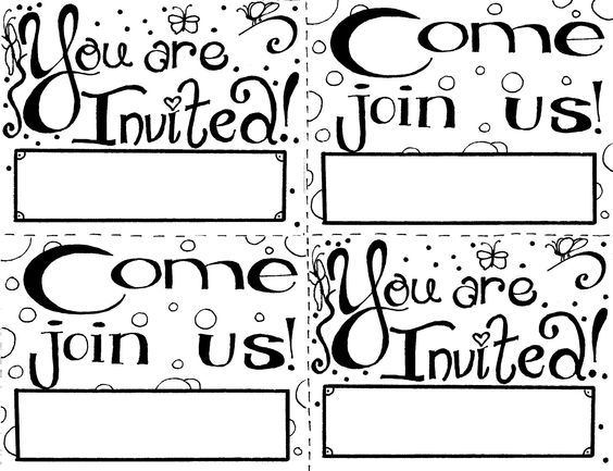Image result for invitation cards for Sunday School