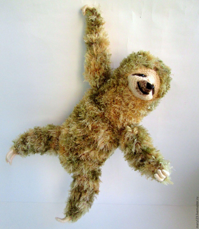 Игрушка ленивец своими руками фото 600