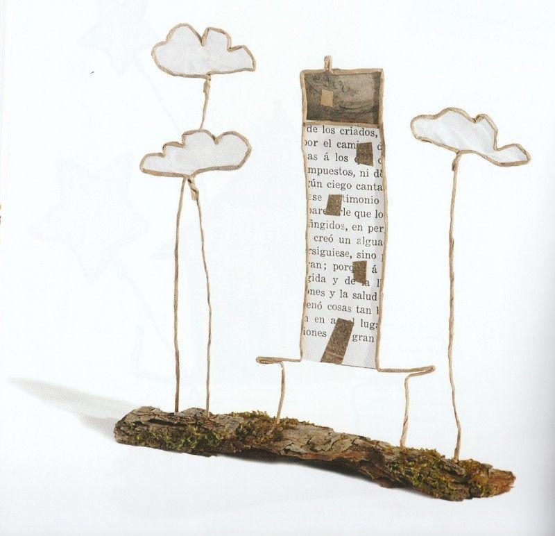 pin von bettina harvolk auf papier zeitung draht papier und basteln. Black Bedroom Furniture Sets. Home Design Ideas