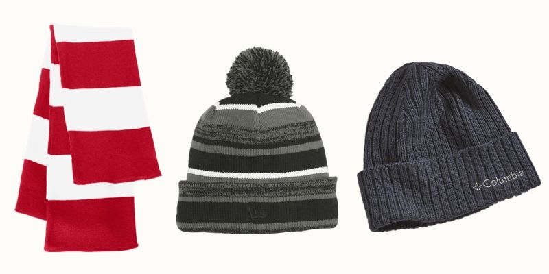 Corporate Beanies and Scarf from NYFifth