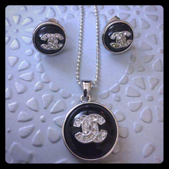 Necklace and earring  set. Necklace and earring set. Jewelry Necklaces