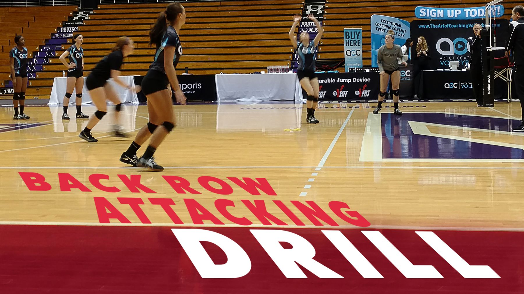 Reinforce Hitting Basics With Back Row Attack Drill The Art Of Coaching Volleyball Volleyball Skills Coaching Volleyball Volleyball Training