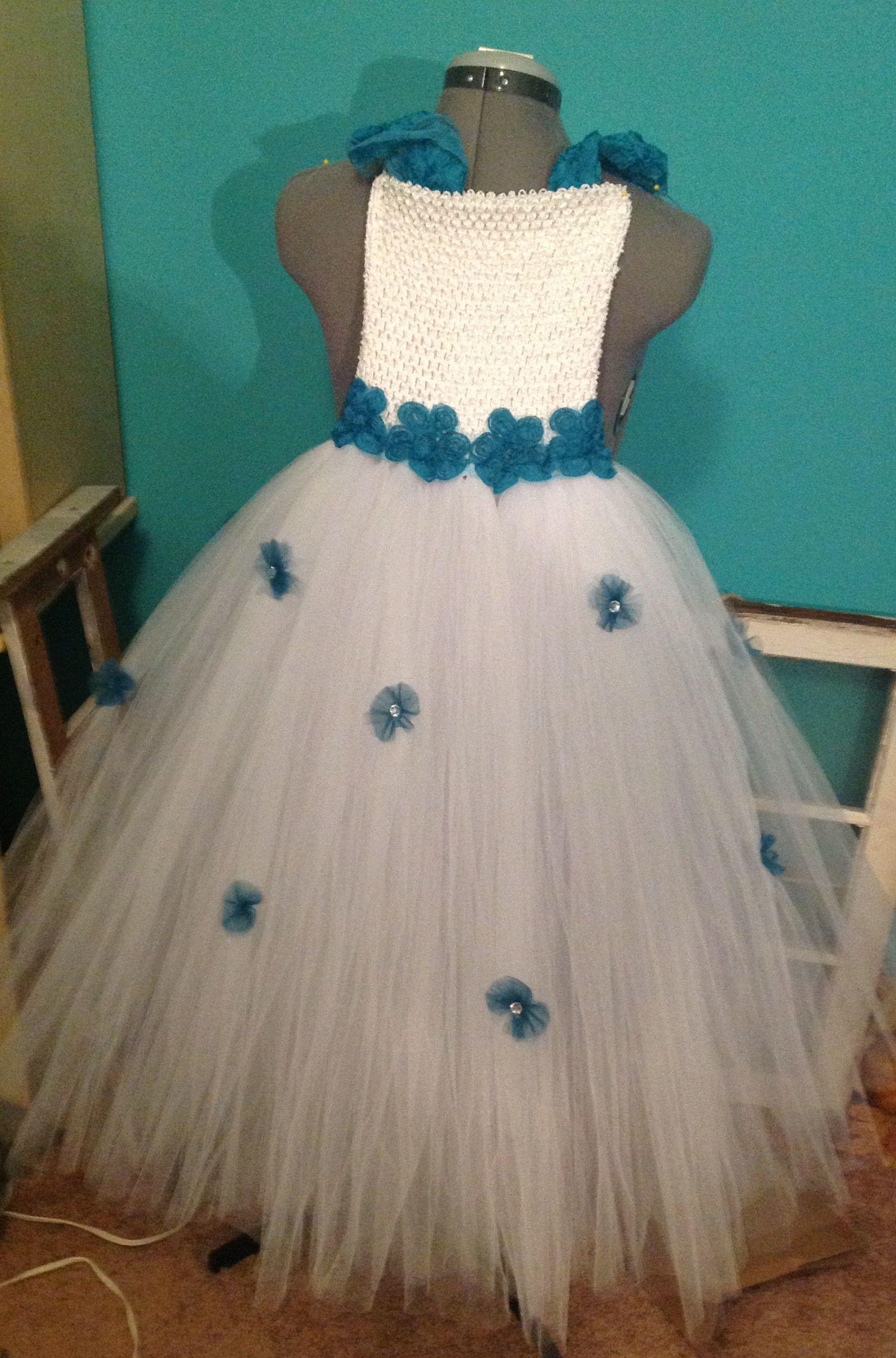 Front of Flower girl dress