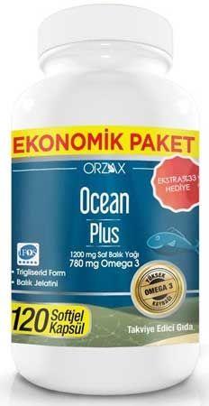 Ocean Plus 1200 Mg 120 Kapsul Burada Indirimli Fiyat Omega Kapsul