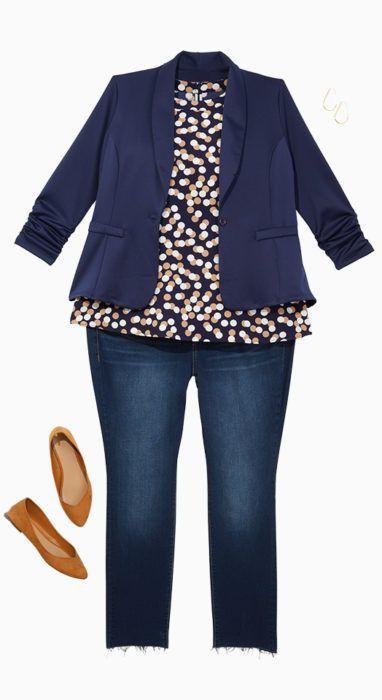 dd300ff0cc5 Plus Size Women s Workwear Denim Style Inspiration