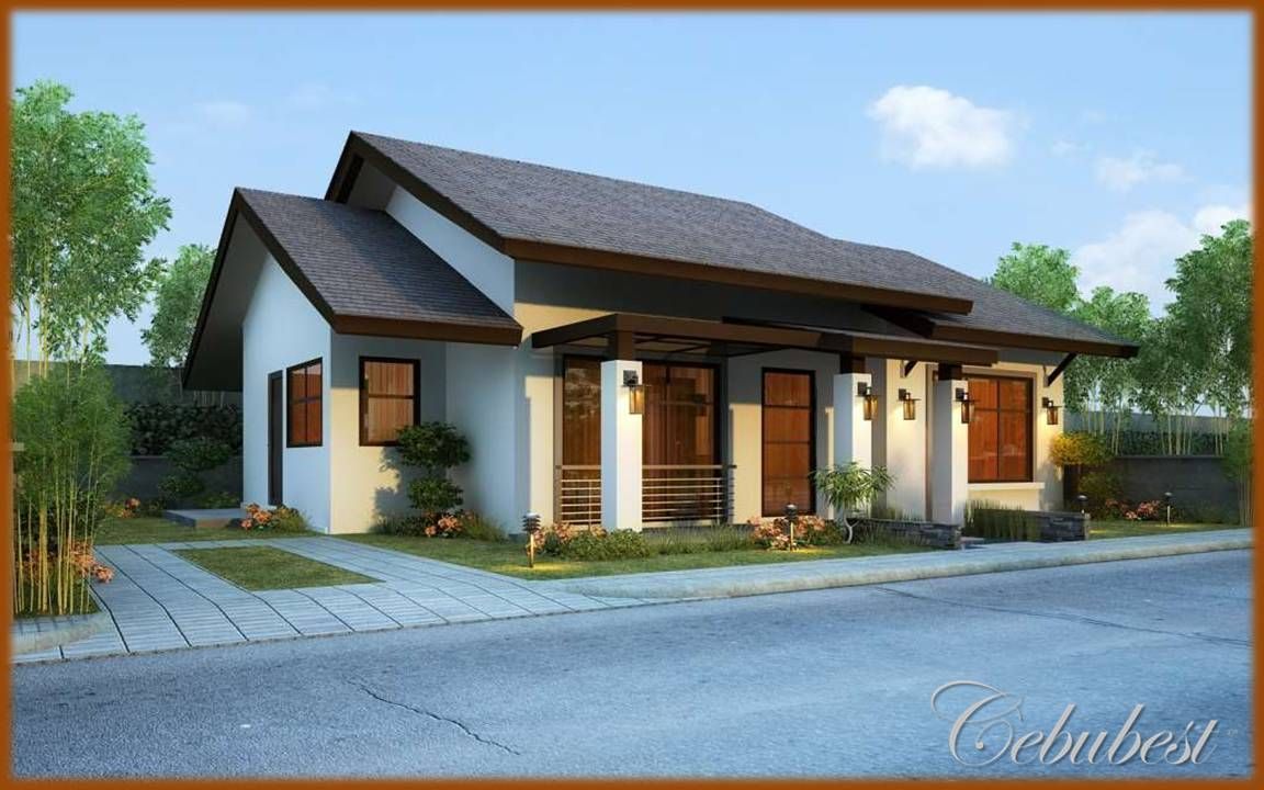 House design philippines bungalow - Single Storey House Design In Philippines House Interior