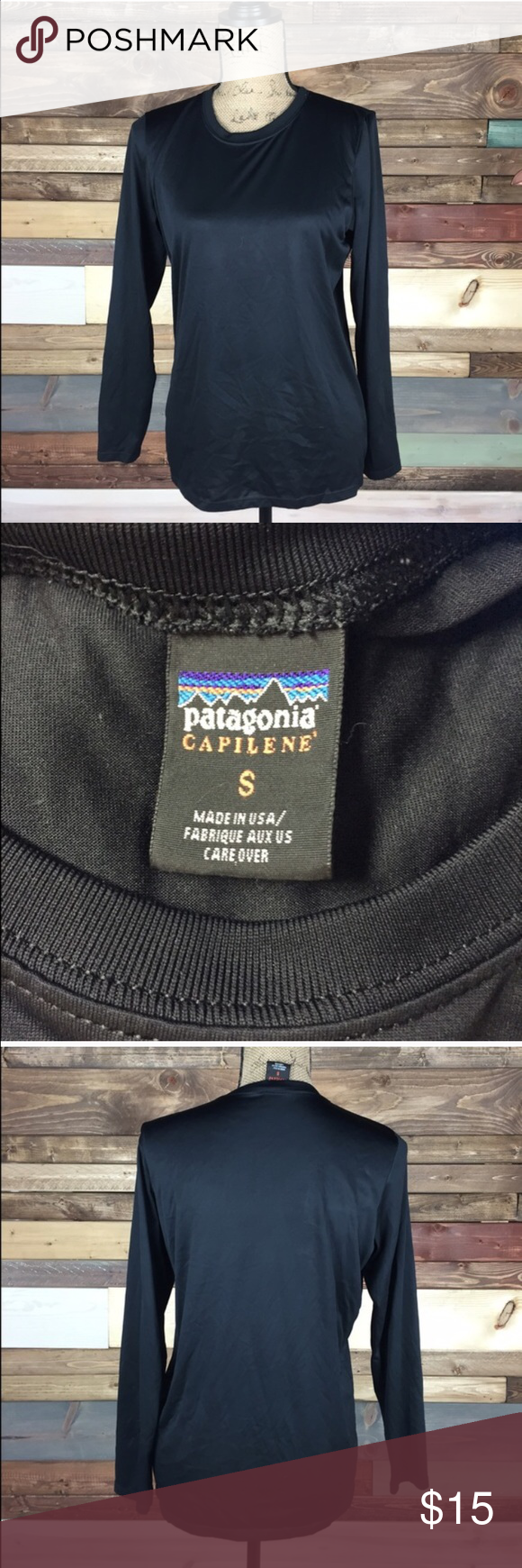 Patagonia Capilene Baselayer Patagonia Capilene Baselayer  Perfect layering piece for winter activities, stay warm.   #patagonia #baselayer #capilene #woodsnap Patagonia Tops Tees - Long Sleeve