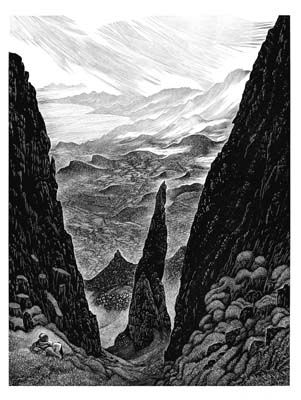Paul Kershaw on Skye by Hilary Paynter