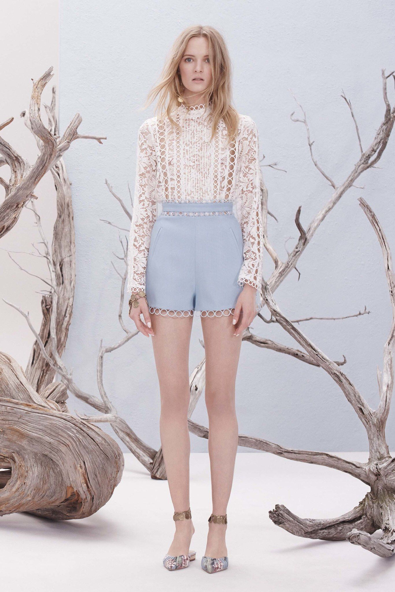 Zimmermann resort fashion show resorts dress games and shorts