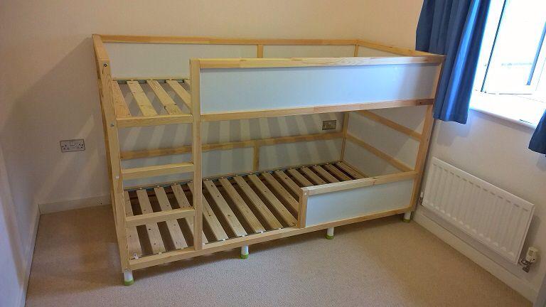Ikea Kura Bed With Nice Raised Lower Bunk Hunters Rm