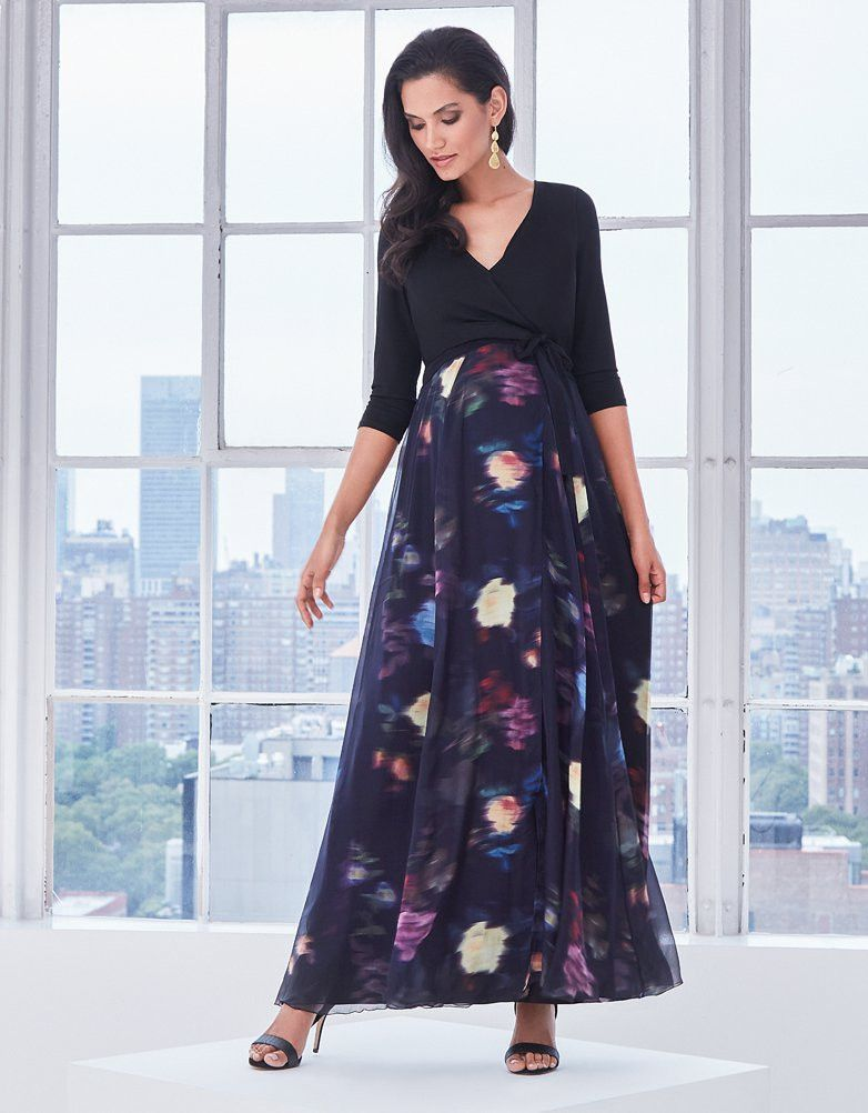 100 Silk Skirt Maxi Length Soft Jersey Wrap Top Concealed