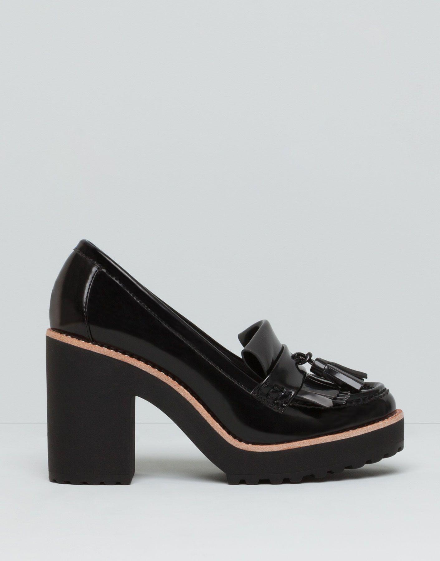 mocassins talon mode pinterest mocassin talons et chaussures de luxe. Black Bedroom Furniture Sets. Home Design Ideas