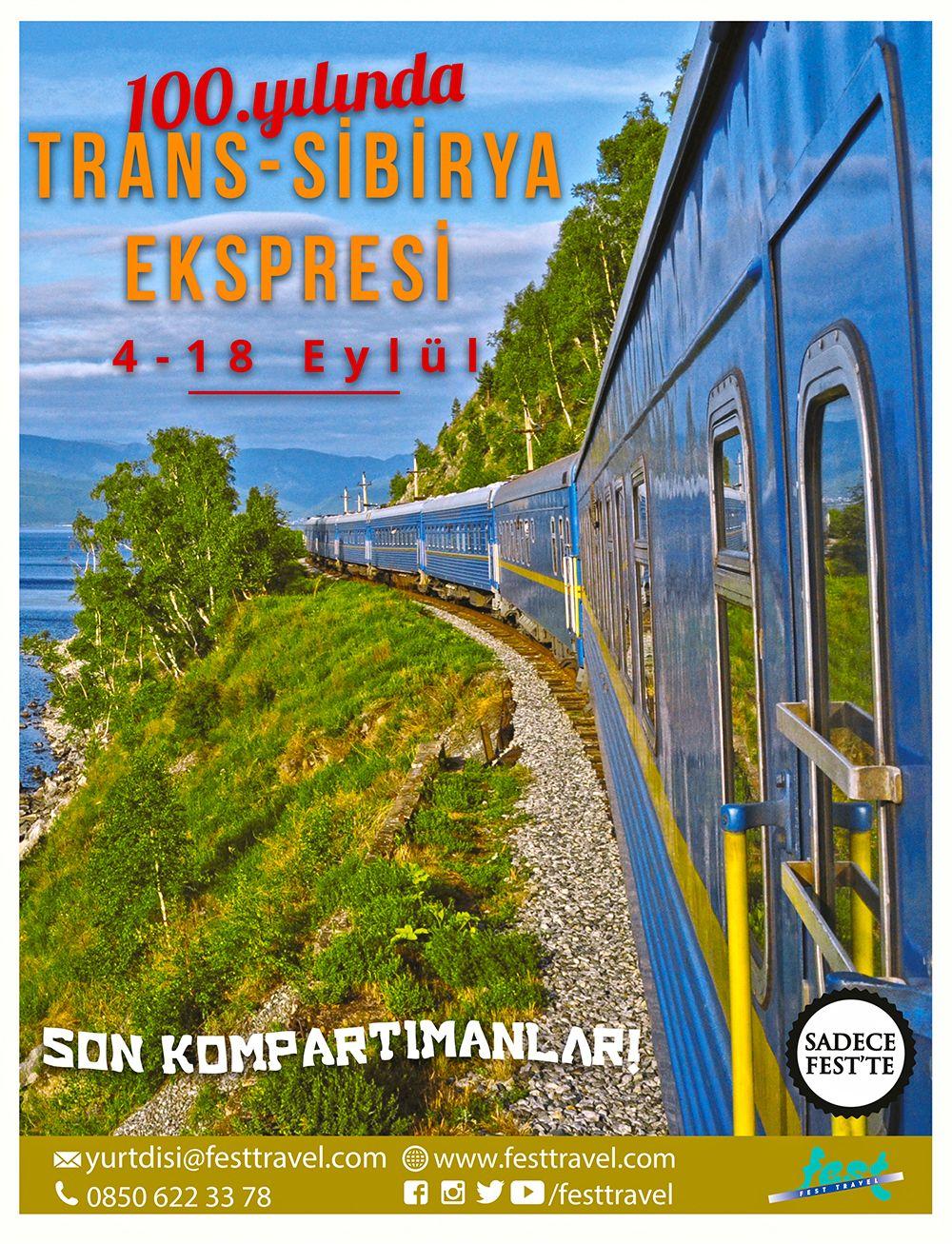 Efsane Rota 100. Yılında: Trans-Sibirya Ekspresi'nde Son Kompartımanlar!