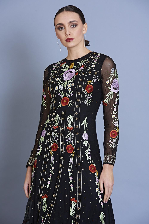 Heather Embroidered Long Sleeve Maxi Dress Maxi Dress With Sleeves Long Sleeve Maxi Long Sleeve Maxi Dress [ 1498 x 1000 Pixel ]