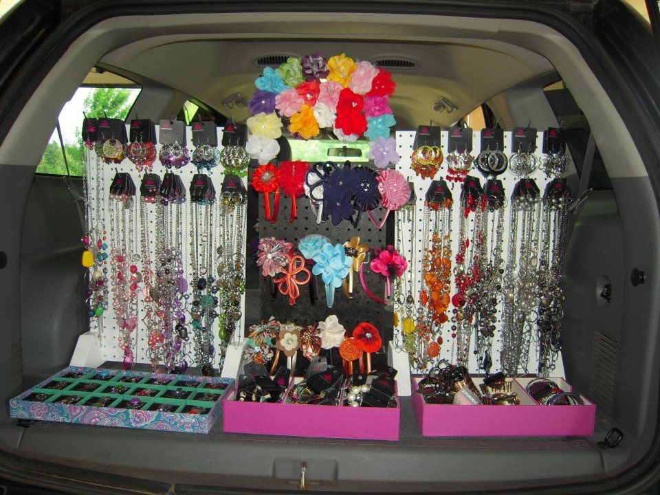 Car Show Trunk Display Ideas