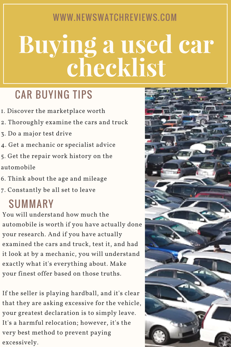 Buying A used Car How To Spot A Good Deal When Buying A