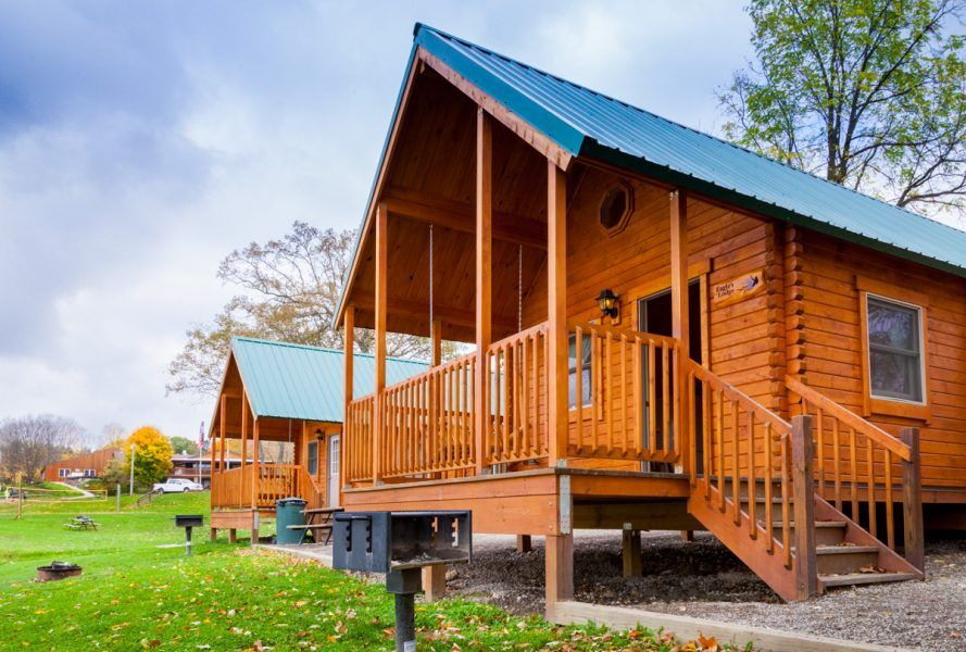 camping log cabin kits - heritage   Tiny House Ideas and