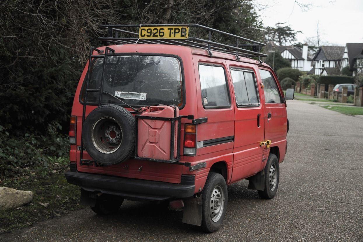 1986 Suzuki Supercarry Rascal Expedition Overland Van With Lpg Ebay Suzuki Carry Van Suzuki